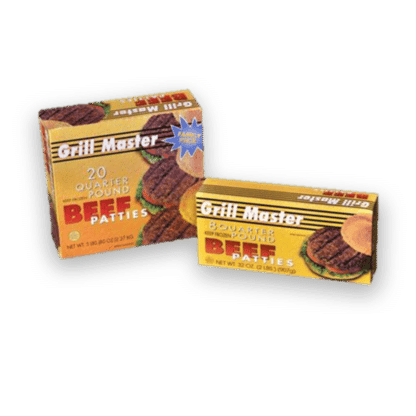 Grill Master Beef Burgers