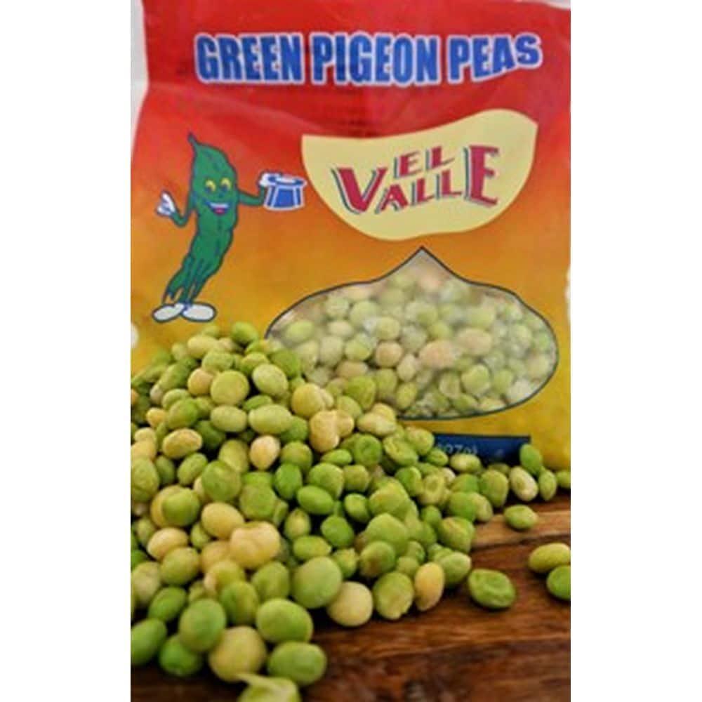 el valle green pigeon peas 1