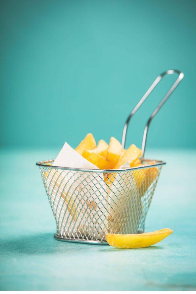 Fries in Basket