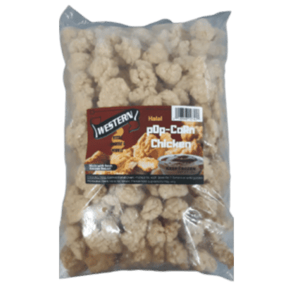 Western Popcorn Chicken 5LB Bag 1
